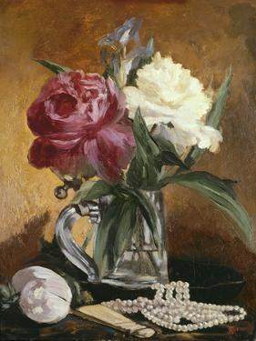Peonies, 1862 by Edouard Manet