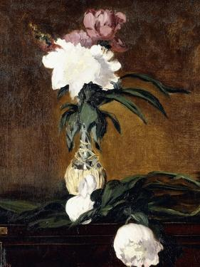 Peonies in a Bottle, 1864 by Edouard Manet