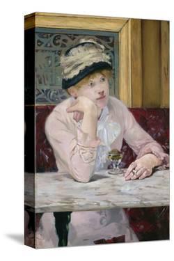 Plum Brandy, c. 1877 by Edouard Manet