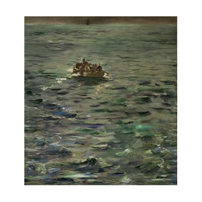 Poet Henri de Rochefort condemned after the Commune of 1871.Paint 1880/81. Canvas, 80 x 73 cm by Edouard Manet