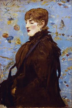 Portrait De Mery Laurent (The Autumn) by Edouard Manet