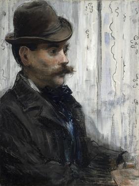 Portrait of Alphonse Maureau, C.1880 by Edouard Manet