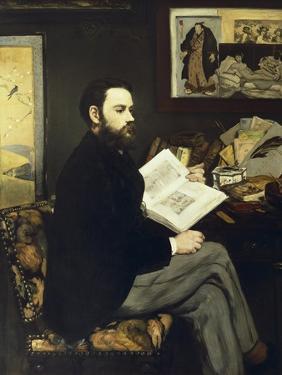 Portrait of Emile Zola by Edouard Manet