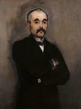 Portrait of Georges Benjamin Clemenceau by Edouard Manet