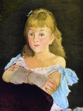 Portrait of Lina Campineanu, 1878 by Edouard Manet
