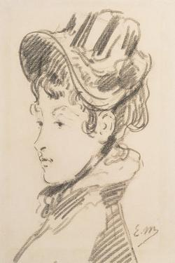 Portrait of Madame Jules Guillemet, C.1880 by Edouard Manet
