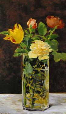 Roses and Tulips, 1882 by Edouard Manet