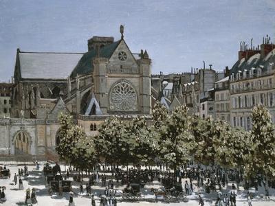 Saint-Germain-L'Auxerrois Church, Paris, 1866