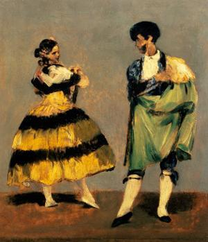 Spanish Dancers, 1879 by Edouard Manet