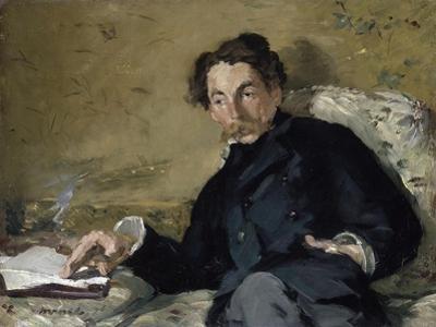 Stéphane Mallarmé by ‰Douard Manet by Édouard Manet