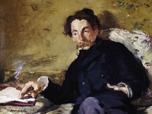 Stephane Mallarme by Edouard Manet