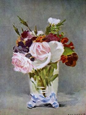 Still Life with Flowers, 1882 by Edouard Manet