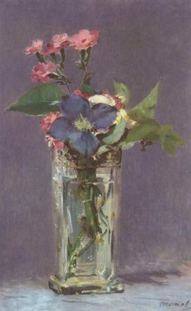 Edouard Manet (Still Life with Flowers) Art Poster Print