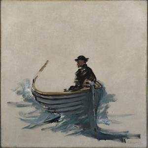 Study for the Escape of Rochefort, 1881 by Edouard Manet