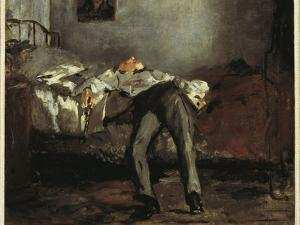 Suicide, 1881 by Edouard Manet