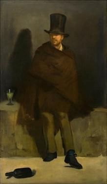 The Absinthe Drinker by Edouard Manet
