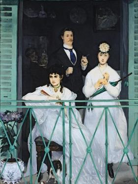 The Balcony, 1868-9 by Edouard Manet