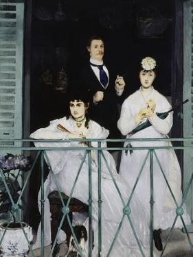 The Balcony, c.1868 by Edouard Manet