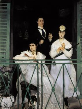 The Balcony by Edouard Manet