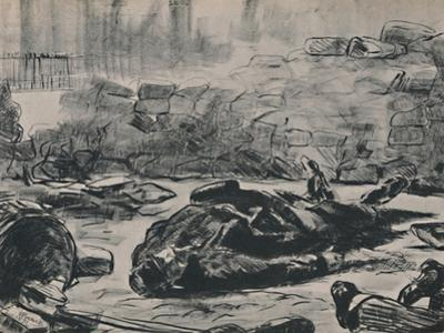 'The Barricade', c.1871-1873, (1946) by Edouard Manet