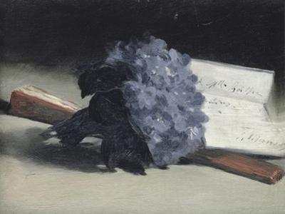 The Bunch of Violets by Edouard Manet