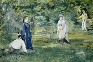 The Croquet Party, 1873 by Edouard Manet