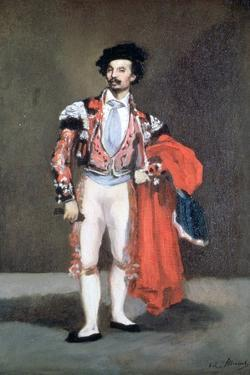 The Dancer, Mariano Camprubi, 1862 by Edouard Manet
