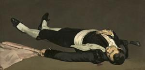 The Dead Toreador, C.1864 by Edouard Manet