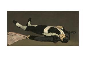 The Dead Toreador, C.1864 by Edouard Manet