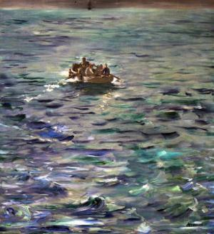 The Escape of Henri Rochefort (1831-1913) by Edouard Manet