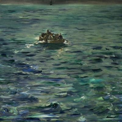The Escape of Henri Rochefort (1831-1913)