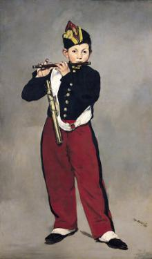 The Fifer, 1866 by Edouard Manet