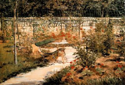 The Garden Le Jardin by Edouard Manet