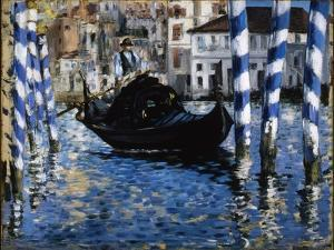 The Grand Canal, Venice, 1875 by Edouard Manet