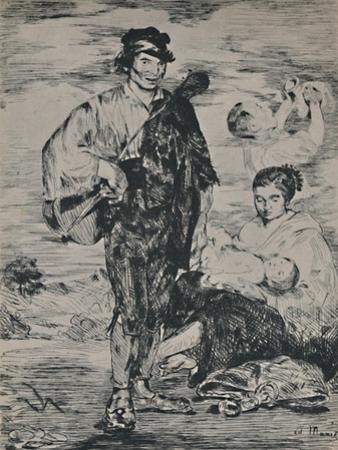'The Gypsies', 1862, (1946) by Edouard Manet