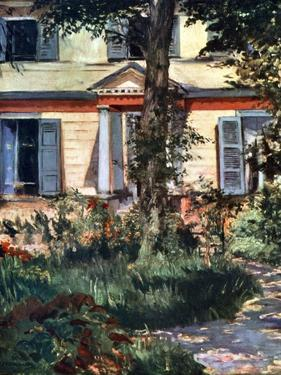 The House at Rueil, 1882 by Edouard Manet