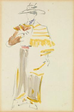 The Mexican, 1862 (W/C on Paper) by Edouard Manet