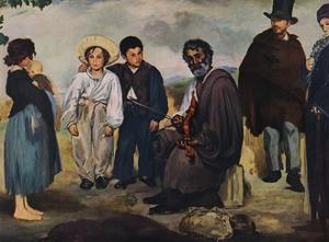 'The Old Musician', 1862 by Edouard Manet