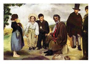 The Old Musician by Edouard Manet