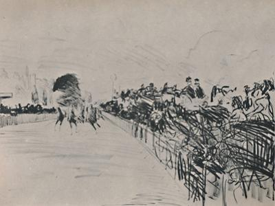 'The Races', 1865-1872, (1946) by Edouard Manet