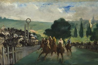 The Races at Longchamp, 1866