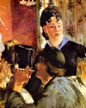 The Waitress by Edouard Manet