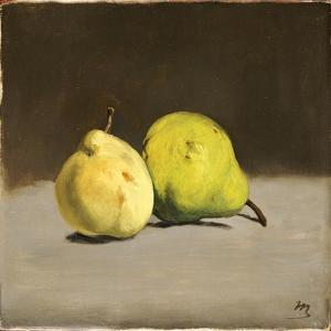 Two Pears, 1864 by Edouard Manet