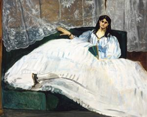 Woman with a Fan, 1862 by Edouard Manet