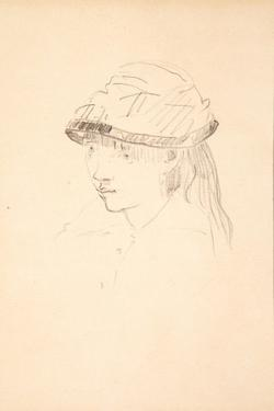 Young Girl in Round Hat, 1878-79 by Edouard Manet