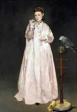 Young Lady in 1866 by Edouard Manet