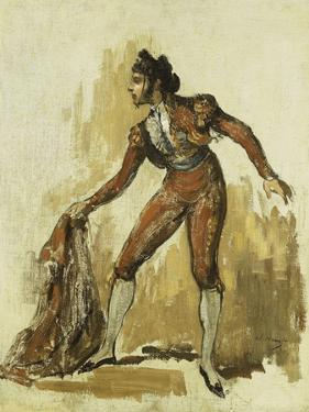 Young Man in a Bullfighting Costume, 1862 by Edouard Manet