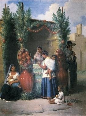 Women of Mexico City by Edouard Pingret