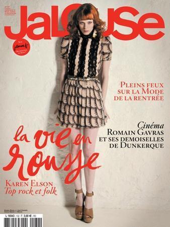 Jalouse, July-August 2010 - Karen Elson by Édouard Plongeon
