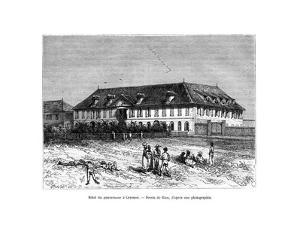The Governor's House, Cayenne, French Guyana, South America, 19th Century by Edouard Riou